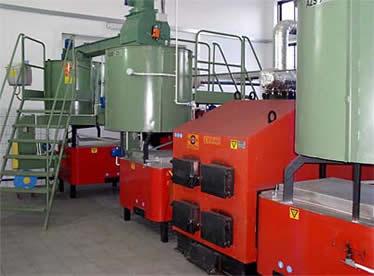 External Combustion Biomass Boiler Biomass